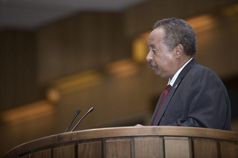 Abdallah Hamdok, Premier ministre du gouvernement de transition depuis le 21 août 2019
