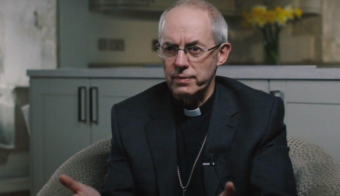 Justin Welby, archevêque de Canterbury