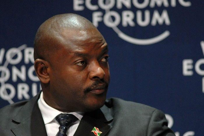 Le président Pierre Nkurunziza au Forum économique mondial