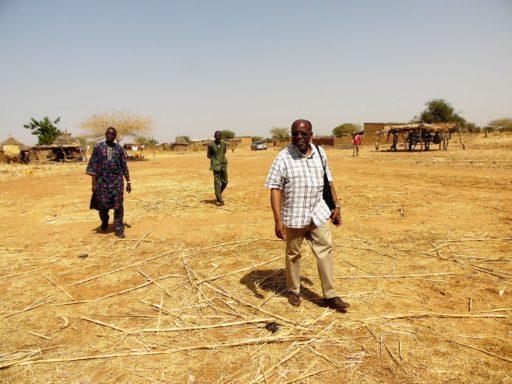 Le pasteur Jean Zida au Burkina Faso où il a contribué à de nombreuses actions de mission et de développement en 2016