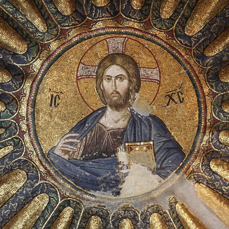 fresques et mosaïques à l'intérieur de l'Eglise Saint-Sauveur-in-Chora