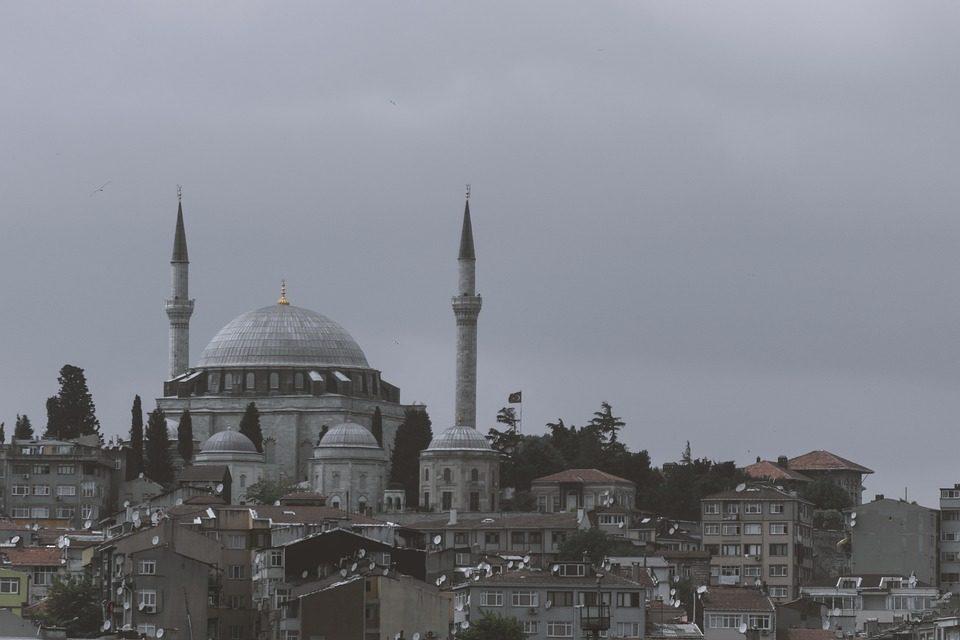 Vue d'Istanbul, Sainte-Sophie
