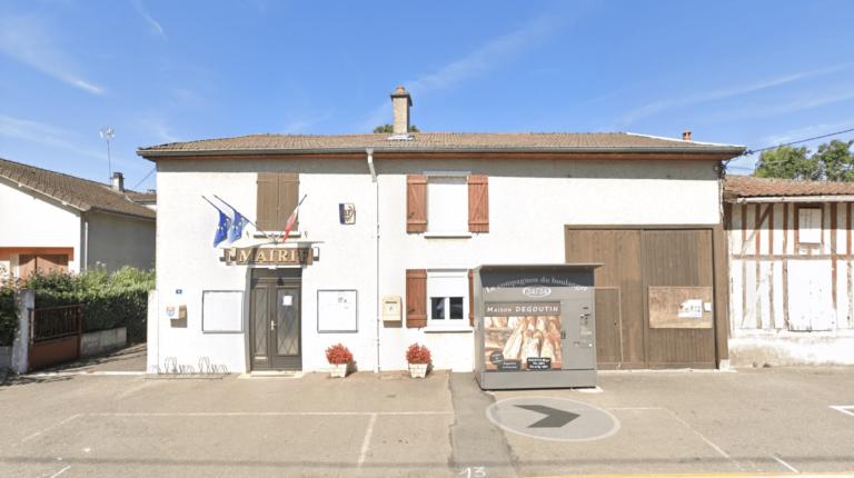 La Mairie de Moëslains en Haute-Marne