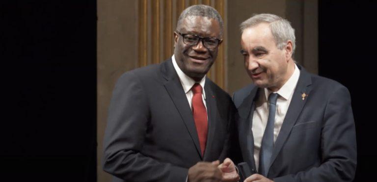 Denis Mukwege et François Clavairoly