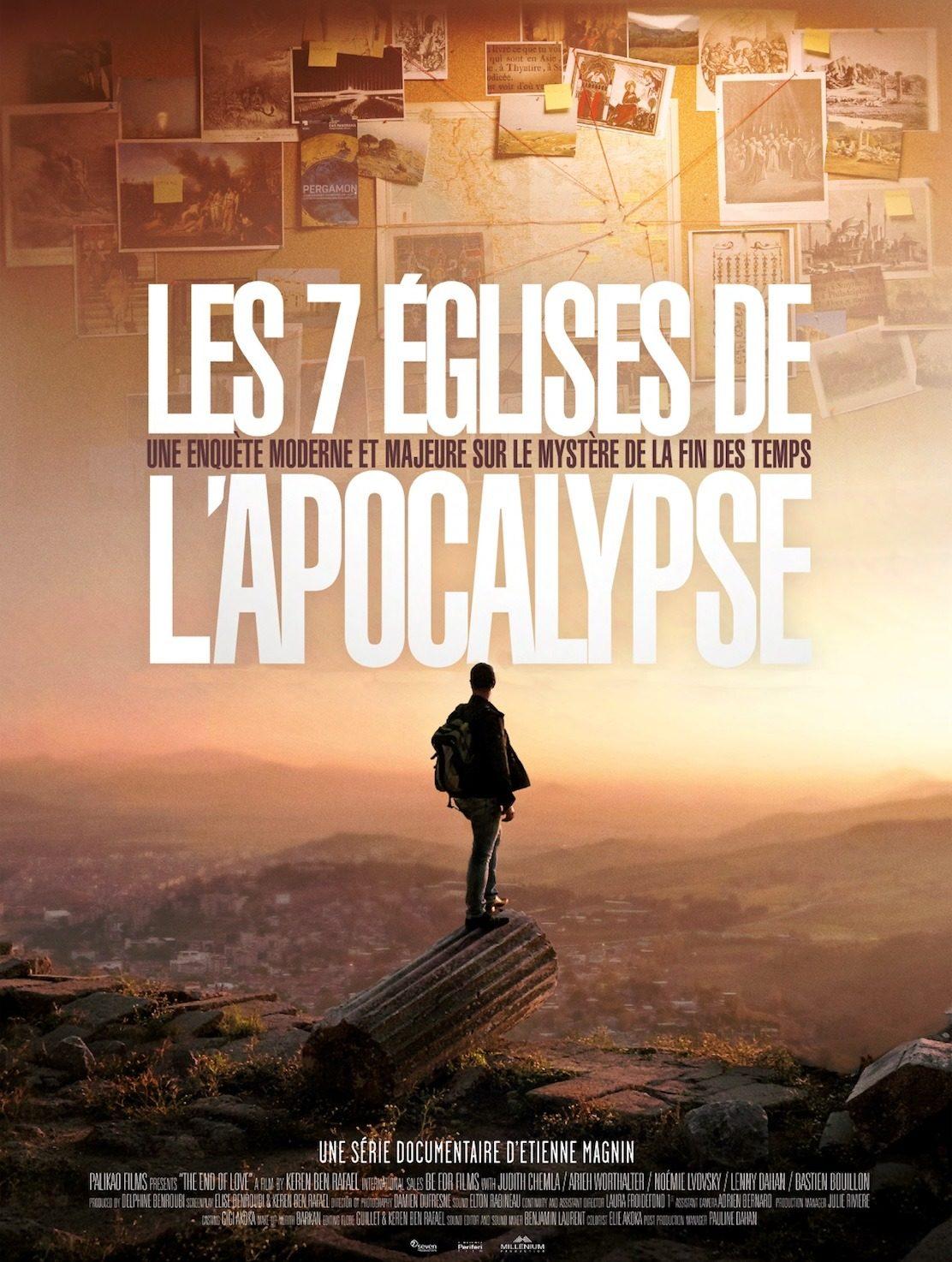 Affiche du film documentaire les 7 Eglises de l'Apocalypse