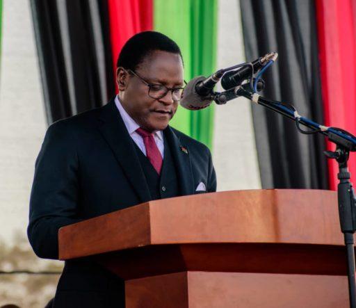 Lazarus Chawera, président du Malawi