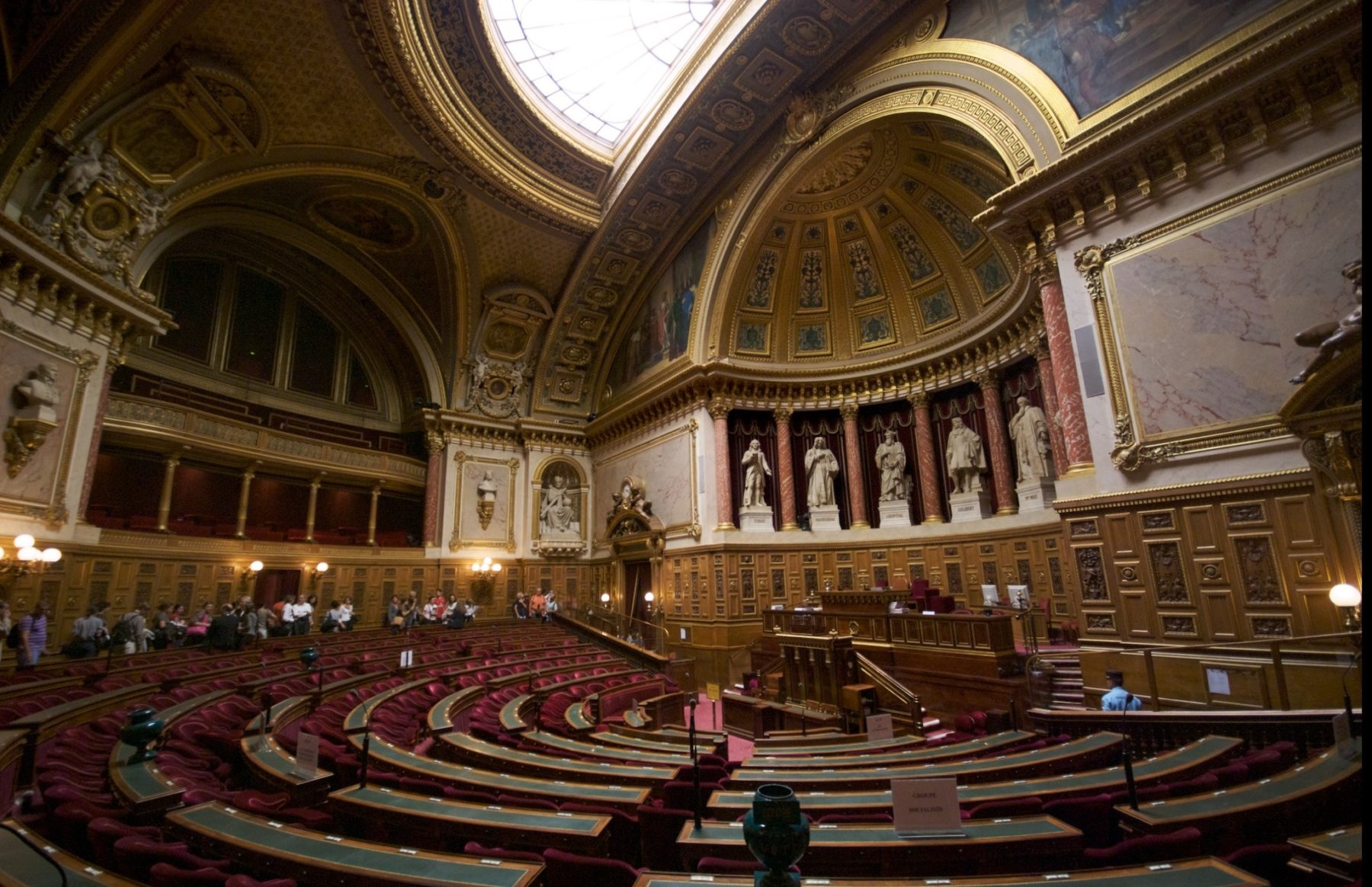 Salle de réunion au Sénat