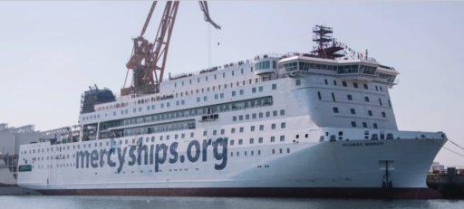 Le nouveau navire-hôpital de l'ONG chrétienne Mercy Ships