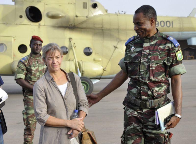 Béatrice Stockli/Libération après son 1er enlèvement