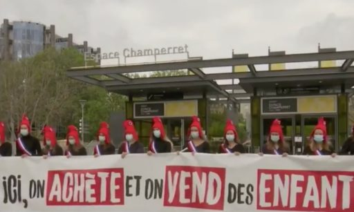 manifestation à Paris contre le projet de loi de bioéthique 2020