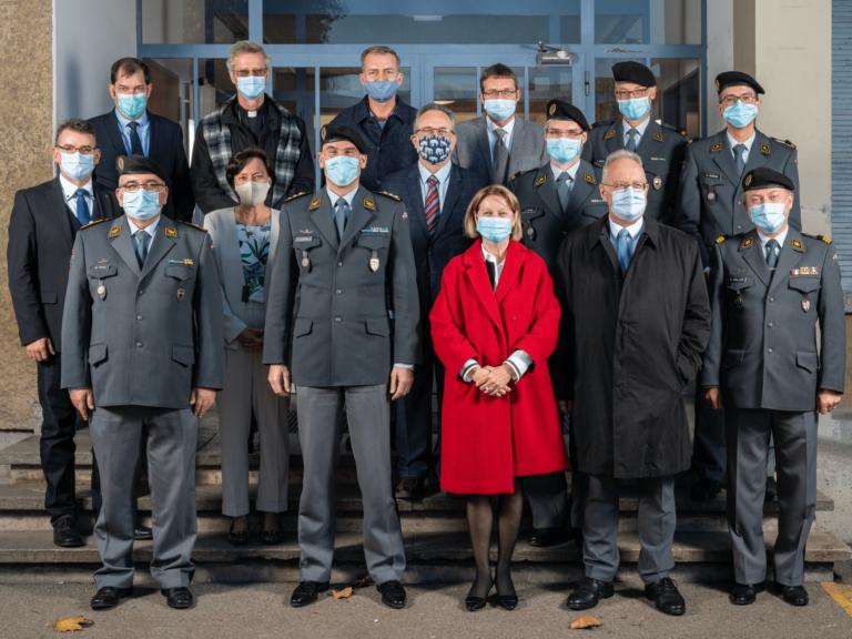 Rencontre entre l'Armée suisse et les représentants religieux le 2 novembre