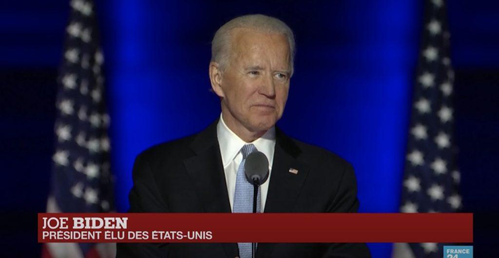 Joe Biden 46eme Président Etat Unis