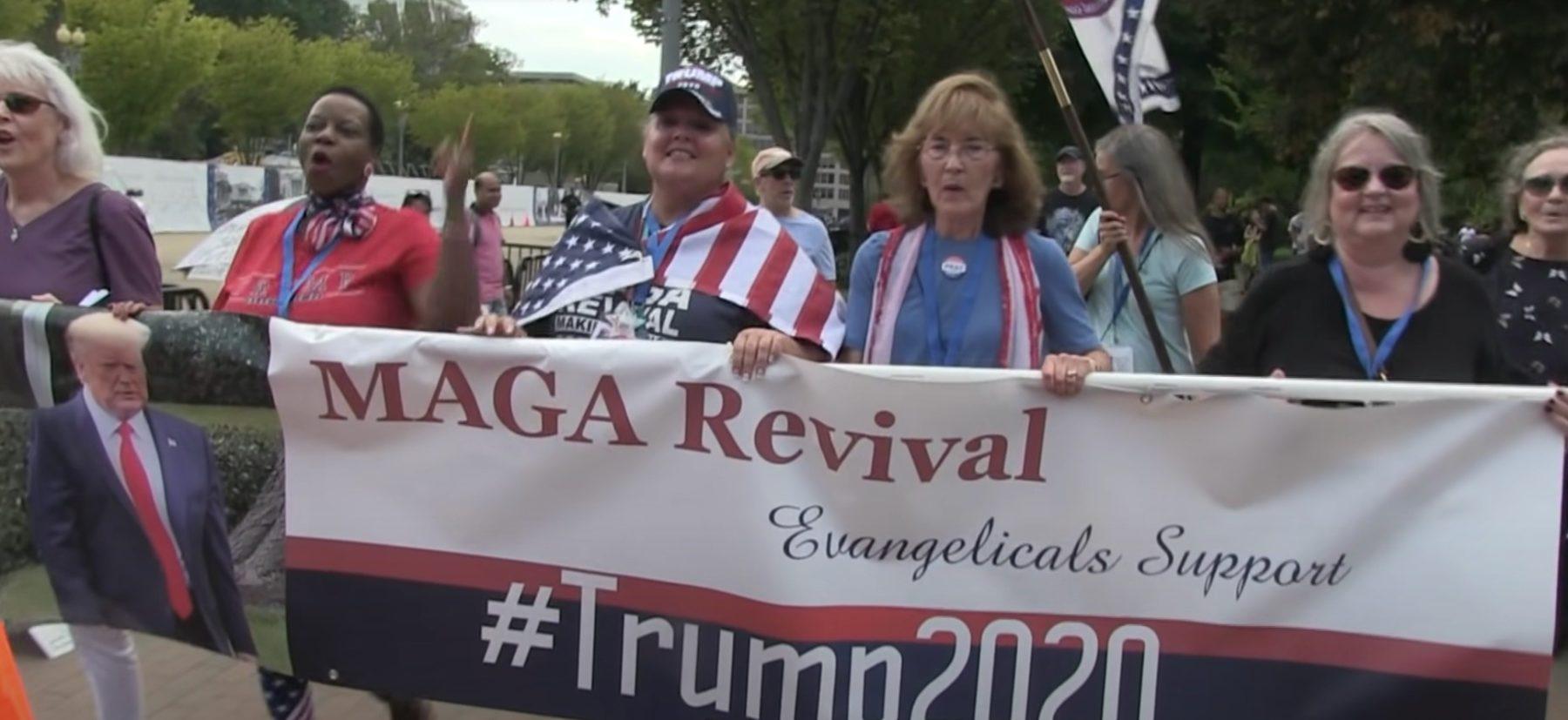 soutien des évangéliques à un candidat politique présidentielles américaines