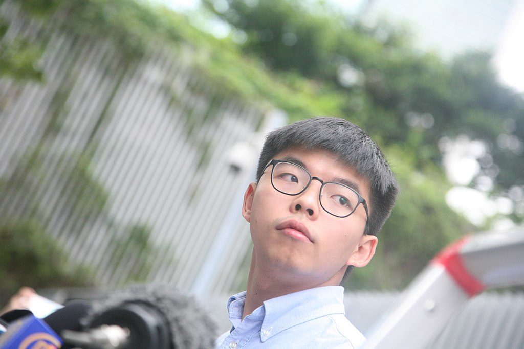 Joshua Wong en 2019