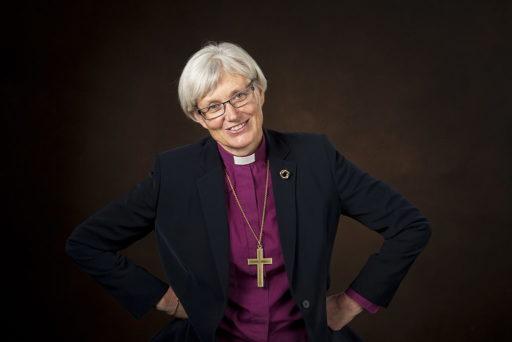 Antje Jackelén, archevêque de l'Église de Suède en 2013