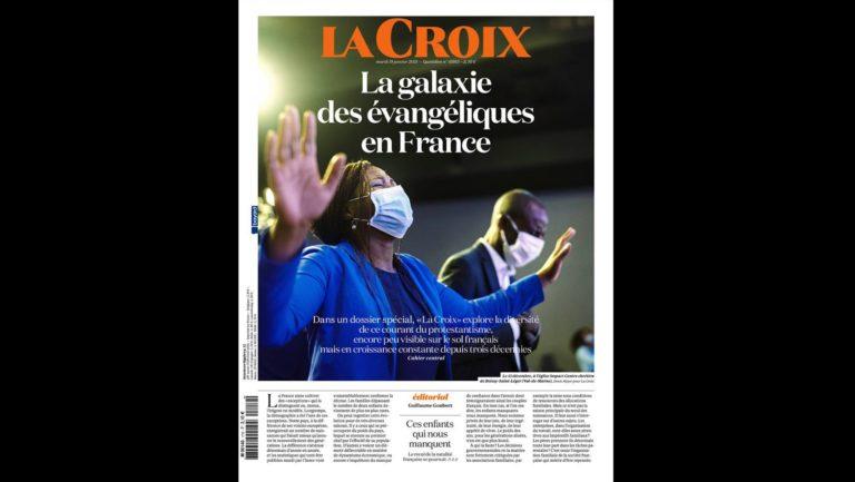 La Une du quotidien La Croix du 19 janvier 2021