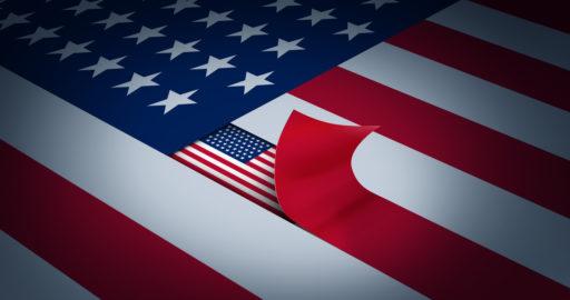 Théorie du complot. L'Amérique secrète : concept d'État profond et d'une bureaucratie gouvernementale clandestine.