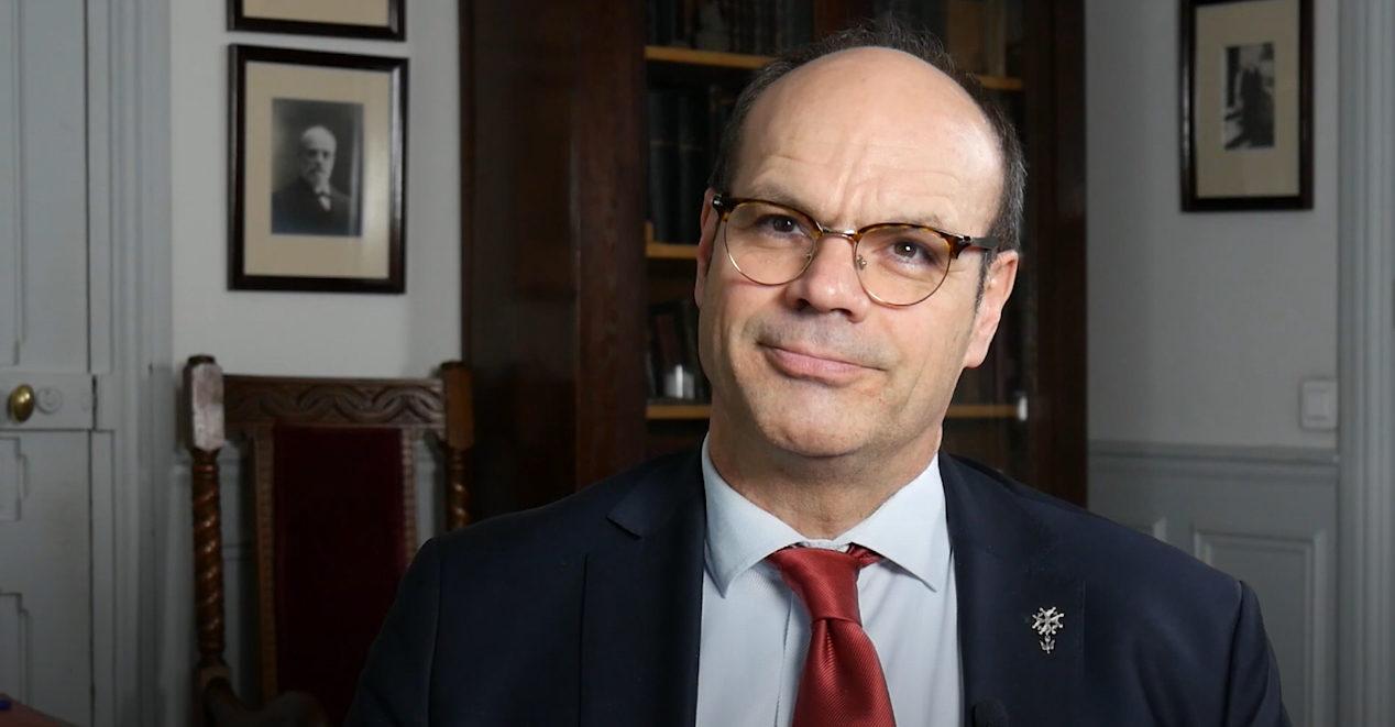Le pasteur Christian Krieger, président de la Conférence des Églises européennes (CEC)