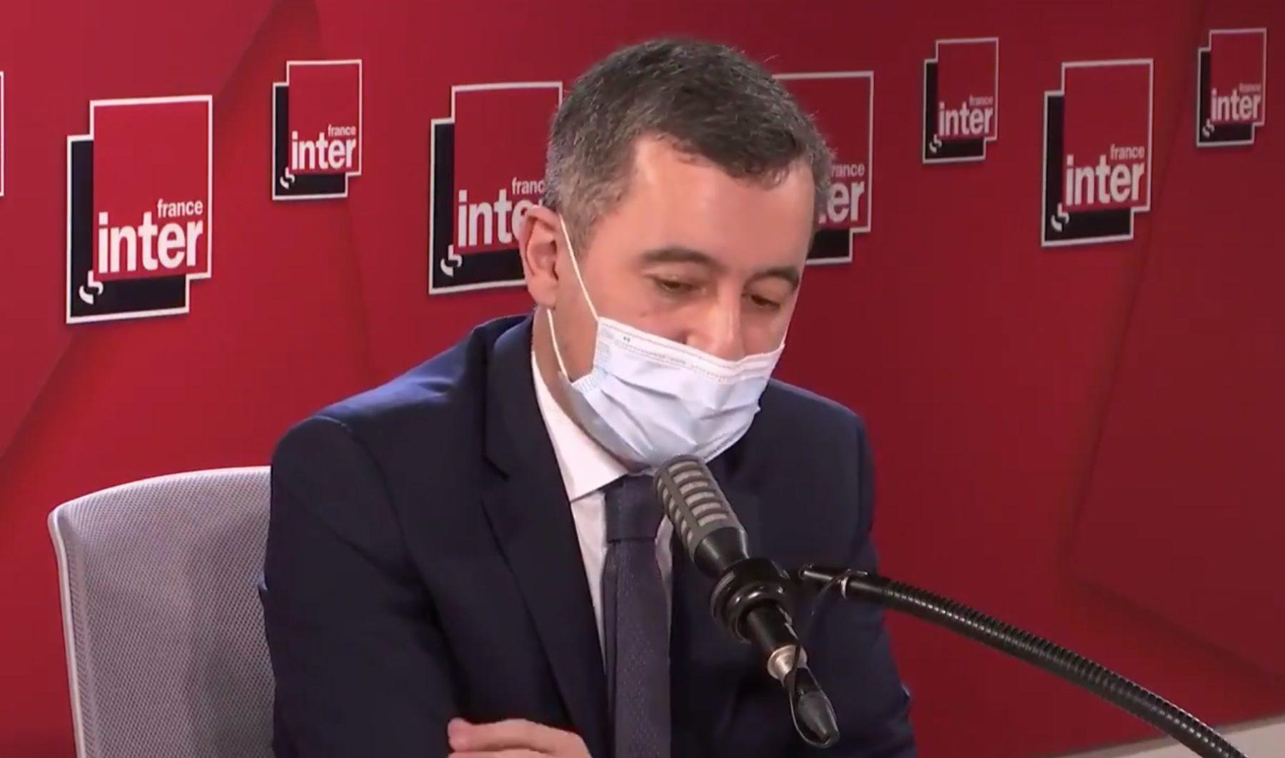 Gerald Darmanin le 1er février sur France Inter