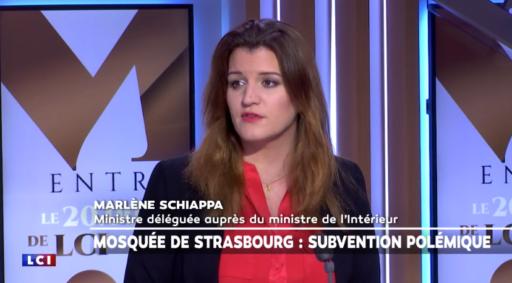 Marlène Schiappa le 23 mars sur LCI