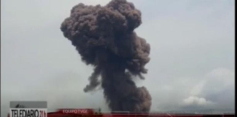 De nombreux bâtiments de la ville de Bata ont été touchés par l'explosion