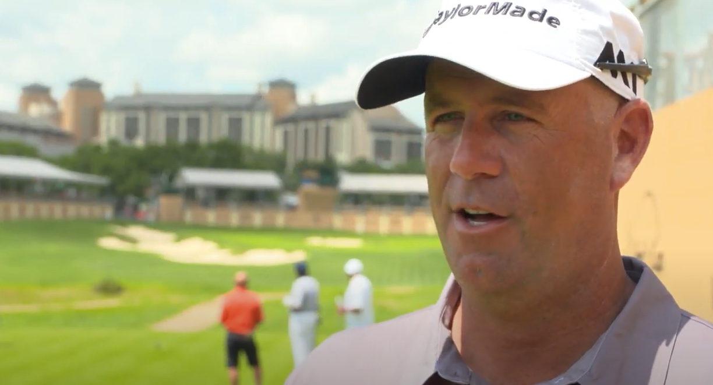 Le joueur de golf Stewart Cink en 2017