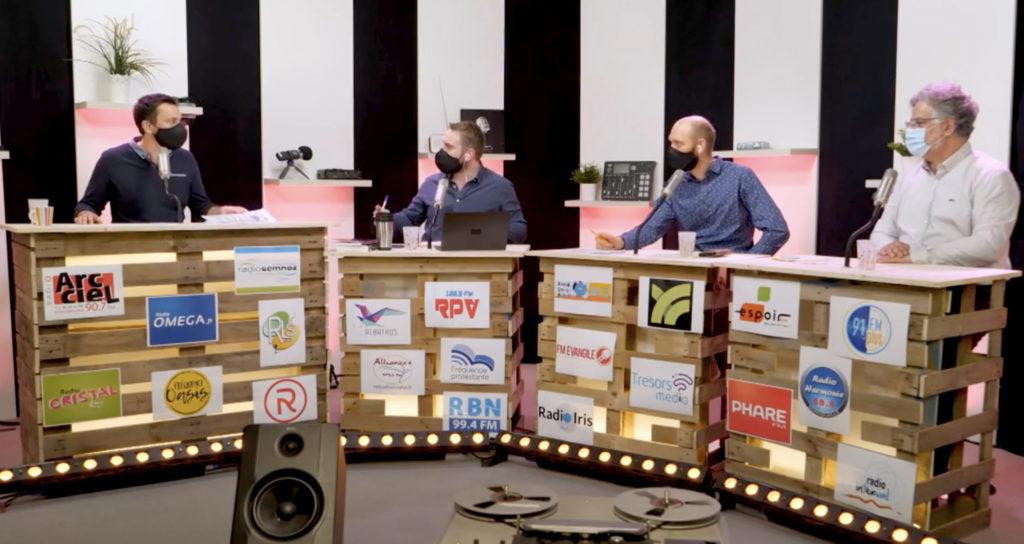 Plateau télé à l'occasion des 100 ans de la radio
