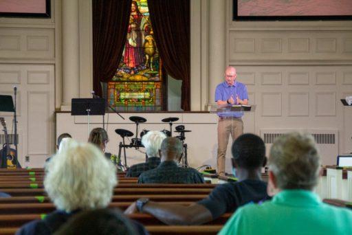 Andy Haynes, pasteur de l'Eglise The Church on Seven Hills, membre de la Convention baptiste du Sud