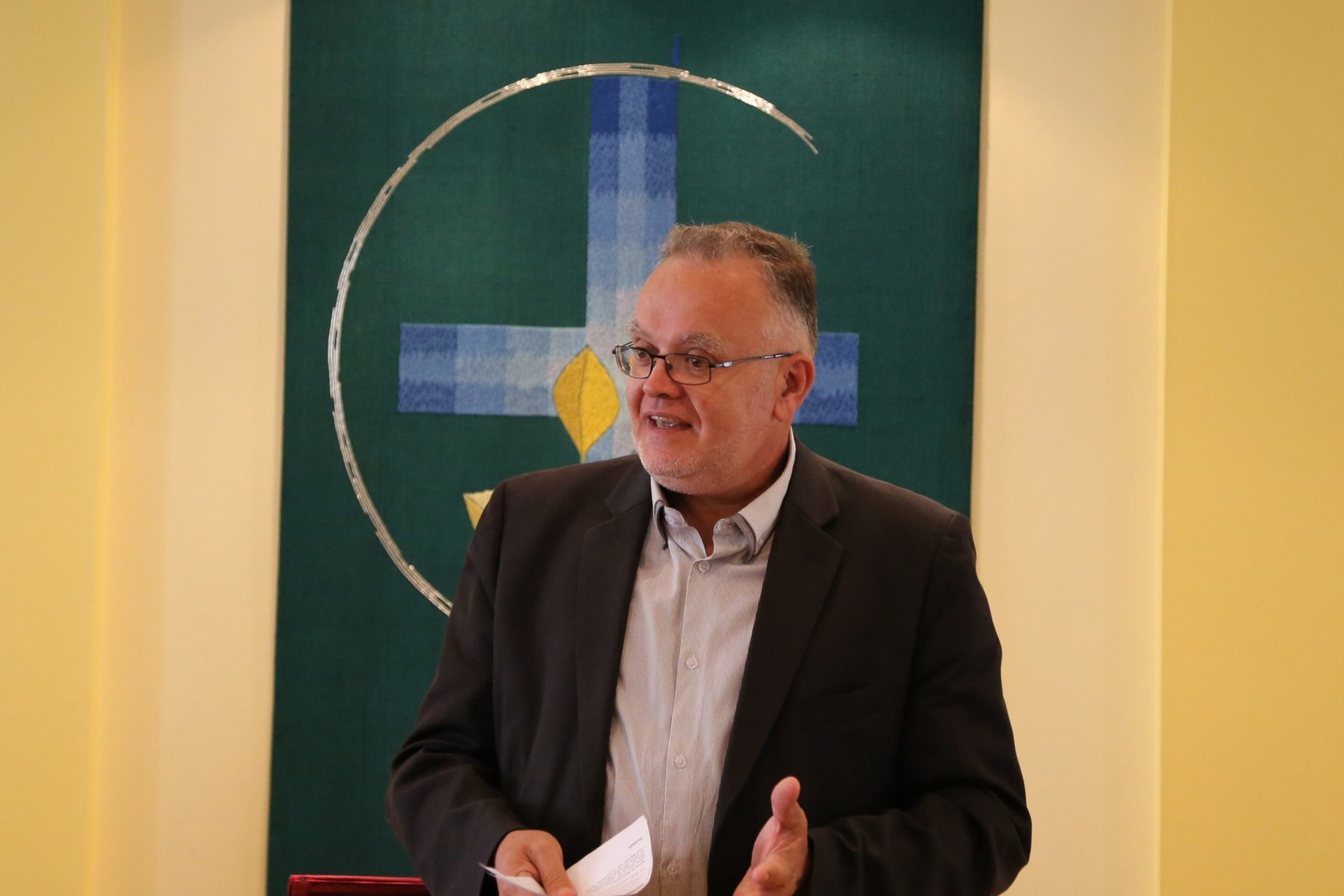 Daniel Rivaud, pasteur et fondateur du CPDH