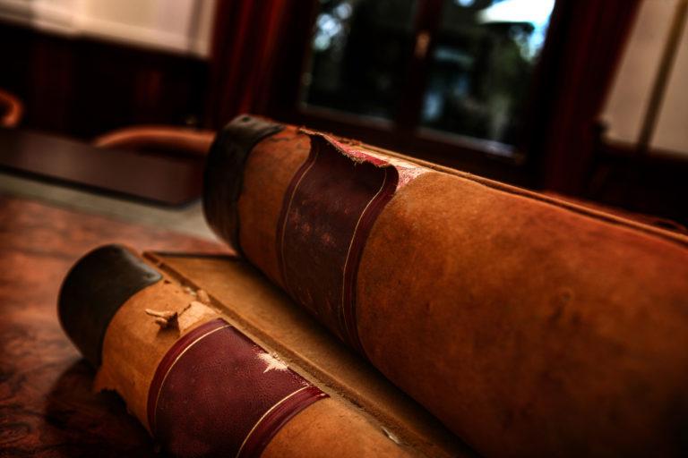Bible en cuir
