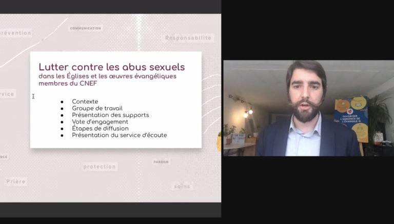 Le CNEF s'engage dans la lutte contre les abus sexuels
