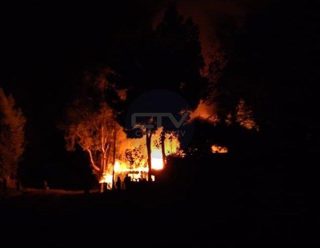 Un incendie criminel a réduit en cendres une église évangélique au Chili