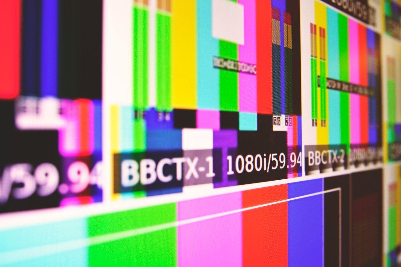 Ecran de télévision dysfonctionnel