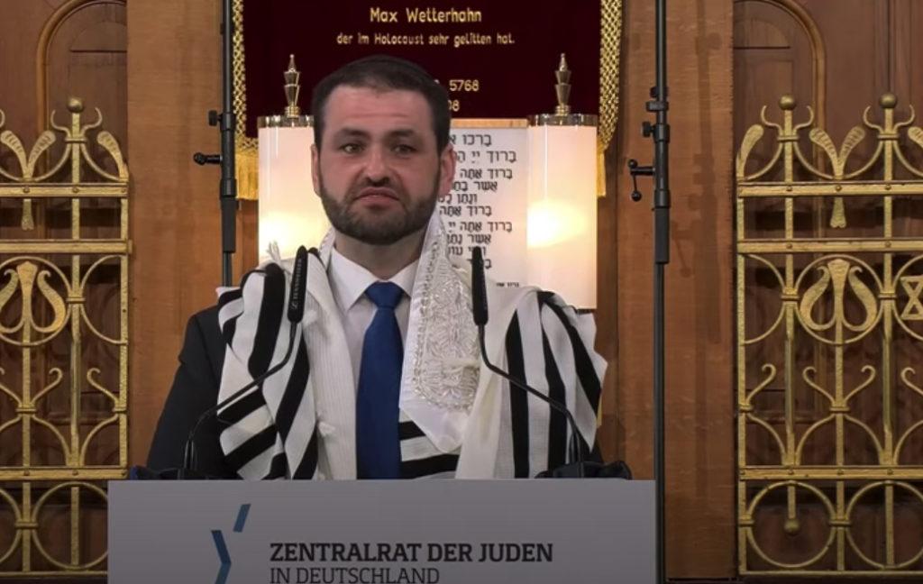 Zsolt Balla, rabbin et aumônier militaire allemand