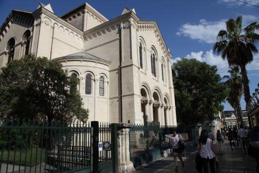 Le temple protestant de la rue de Maguelone à Montpellier