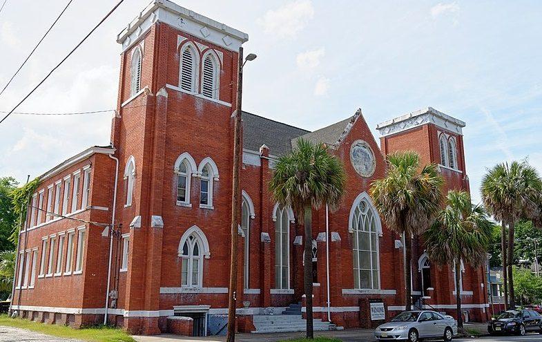 L'église méthodiste d'Asbury, aux USA (Georgie)