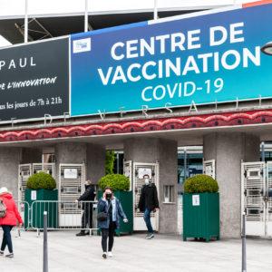 Centre de vaccination contre le Covid-19 à Paris, Porte de Versailles, 20 mai 2021