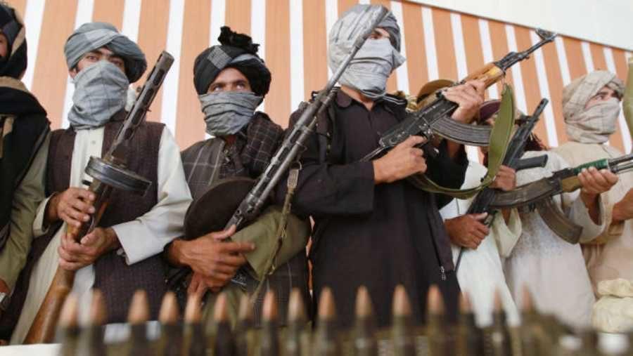 Talibans armés