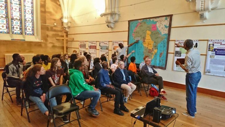 Pettie conférence pour les jeunes à la Défap