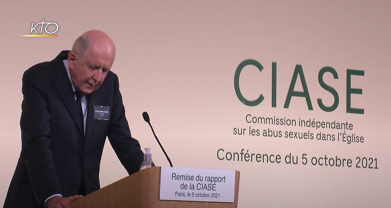 Jean-Marc Sauvé président de la Commission indépendante sur les abus sexuels dans l'Eglise (Ciase)